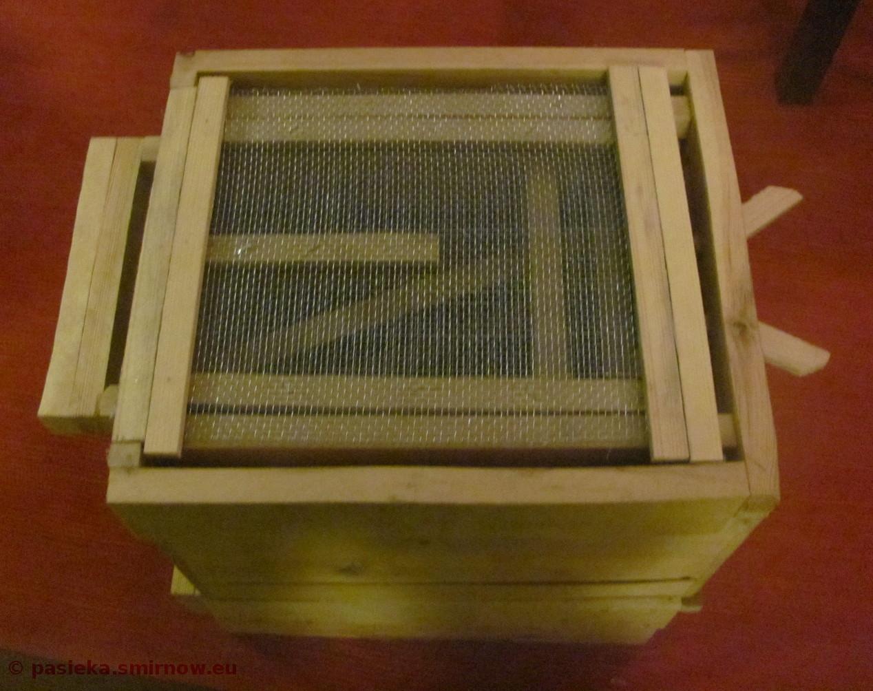 Powałkowy poławiacz pyłku prototyp