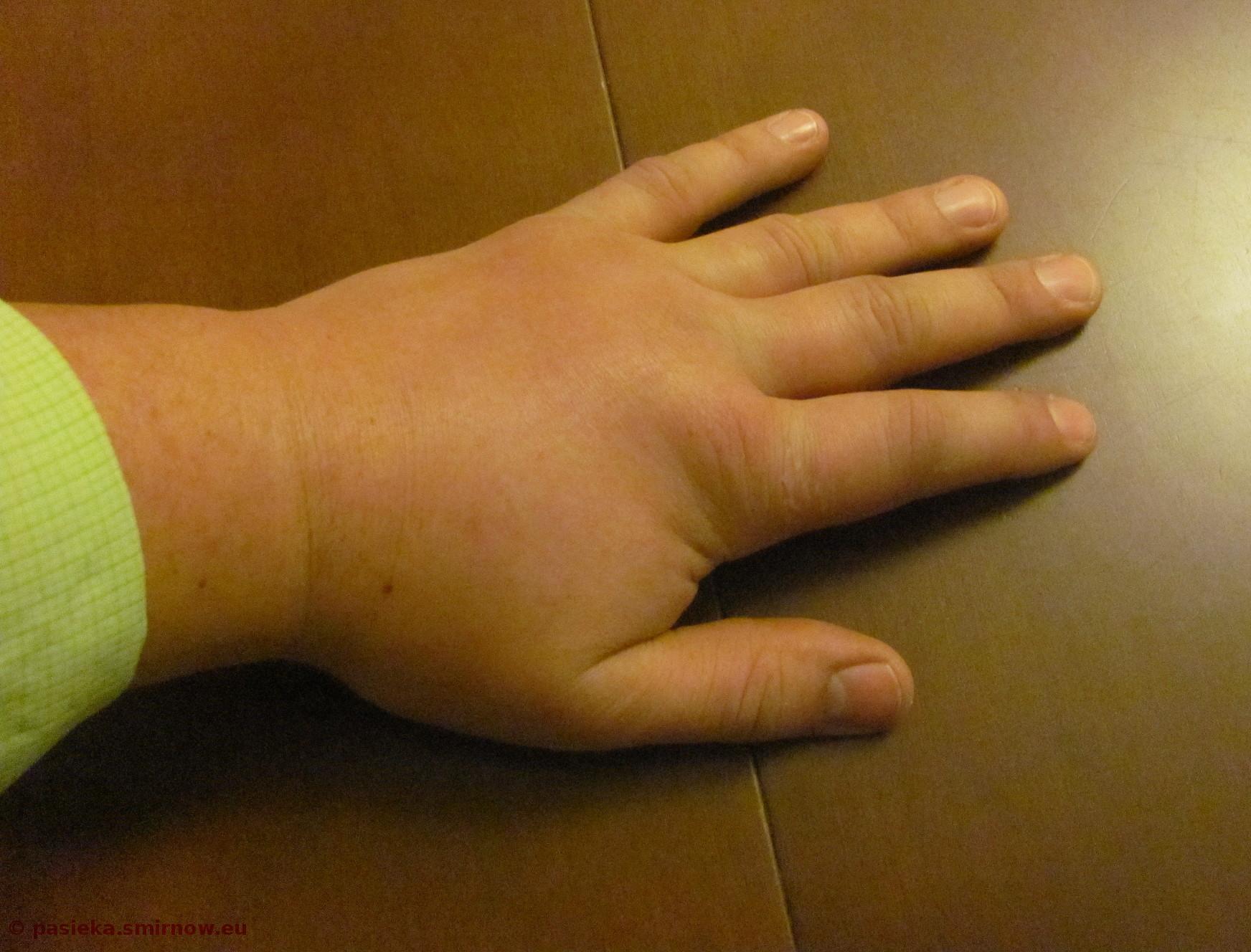 Ręka niemowlaka
