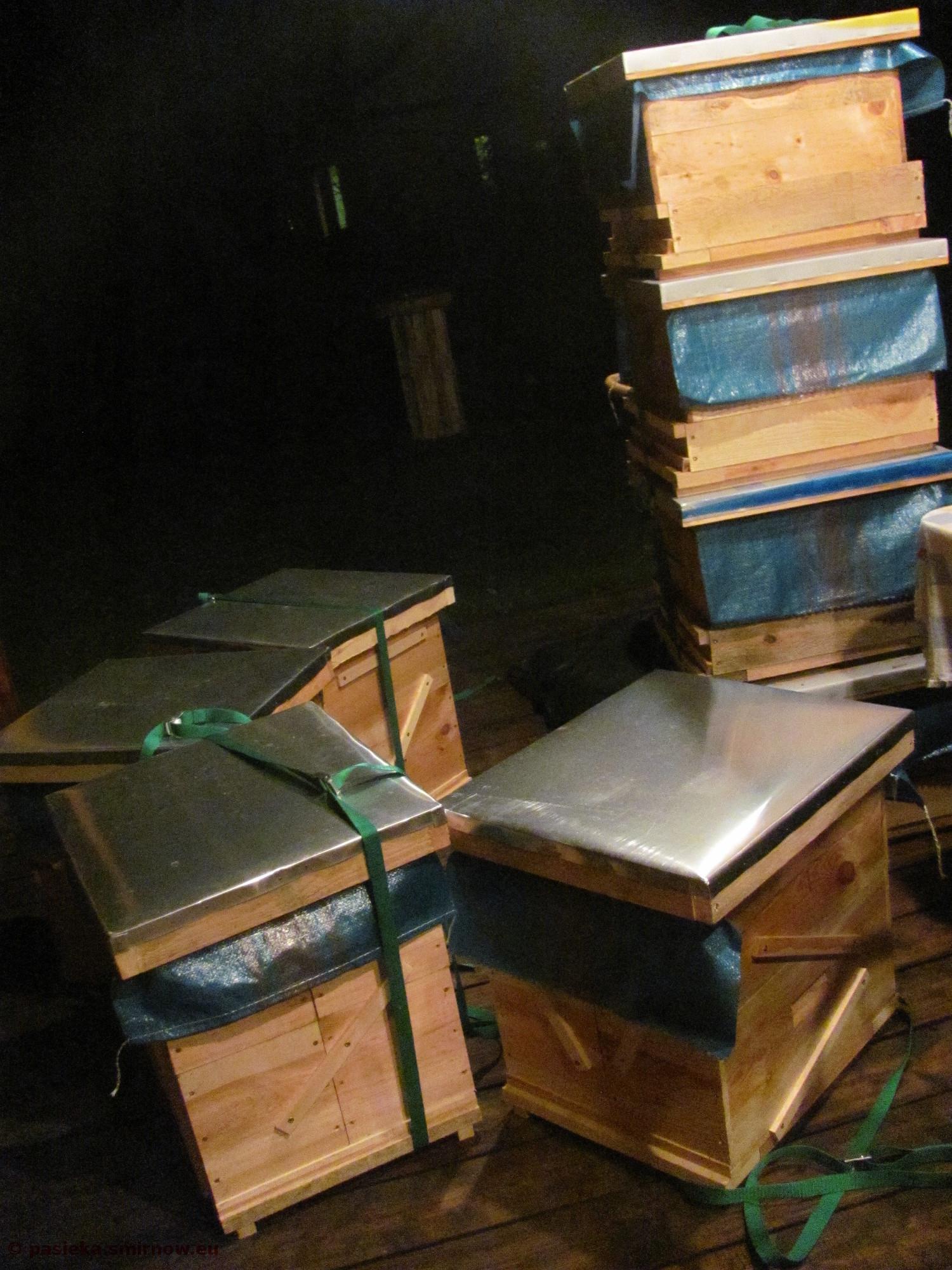 Skrzynki na pszczoły